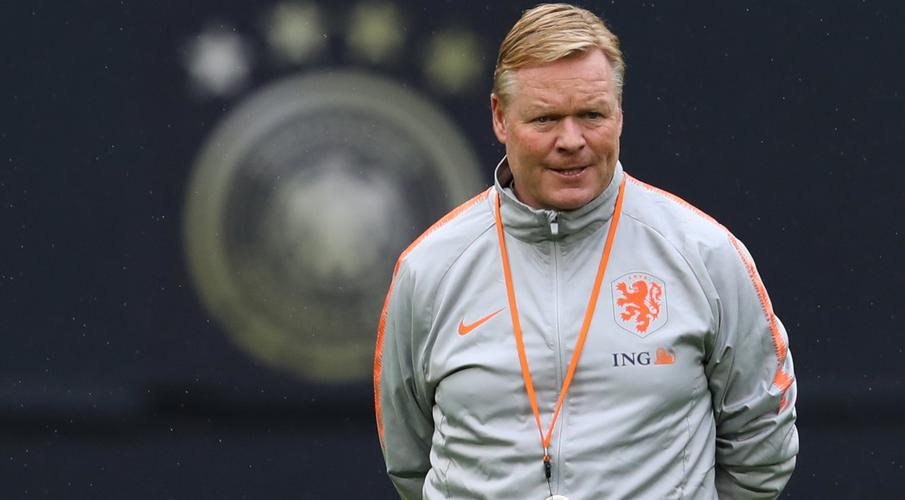 Barcelona president announces Koeman as new coach