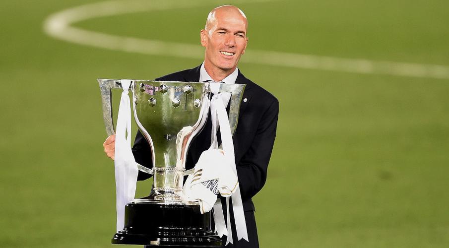 Winning LaLiga 'best day of my professional life' - Zidane