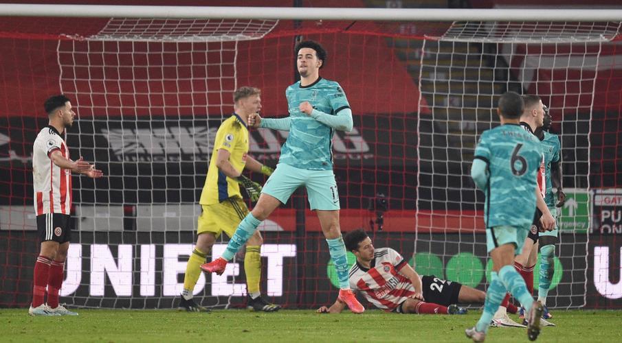 Liverpool beat Sheffield Utd to snap losing streak