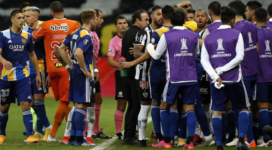 Boca Juniors gamers questioned by police after brawl