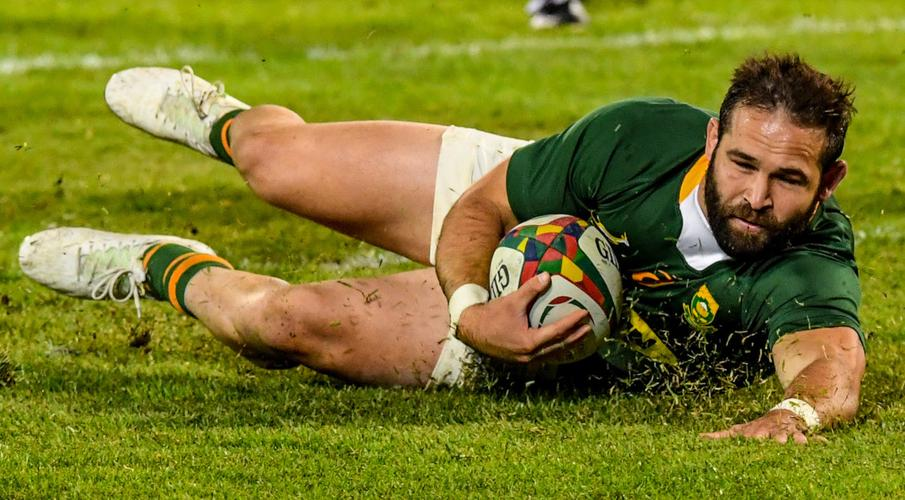 Pack flexes muscles as Boks tick the boxes