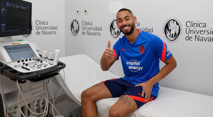 Brazil striker Cunha joins Atletico from Hertha