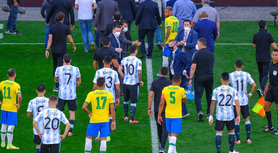 Fifa opens investigation into abandoned Brazil-Argentina match