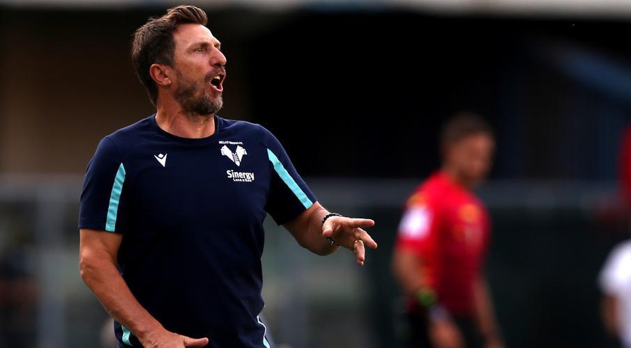 Verona sack Di Francesco three games into season