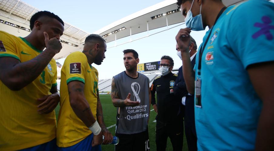 Fifa chief Infantino labels Brazil postponement 'crazy'