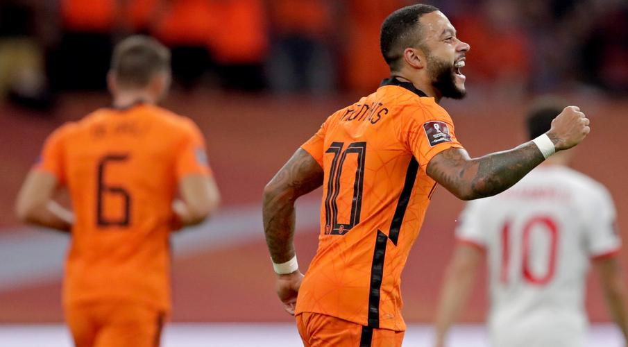 Depay treble sends Dutch top of qualifying group