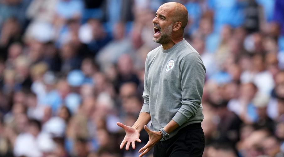 No striker, no problem - Guardiola