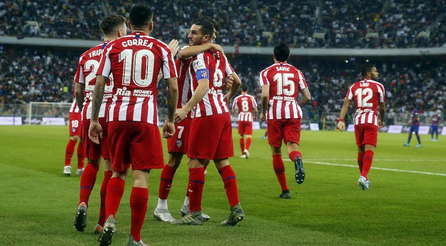 Atletico stun Barca to set up all-Madrid Super Cup final - SuperSport