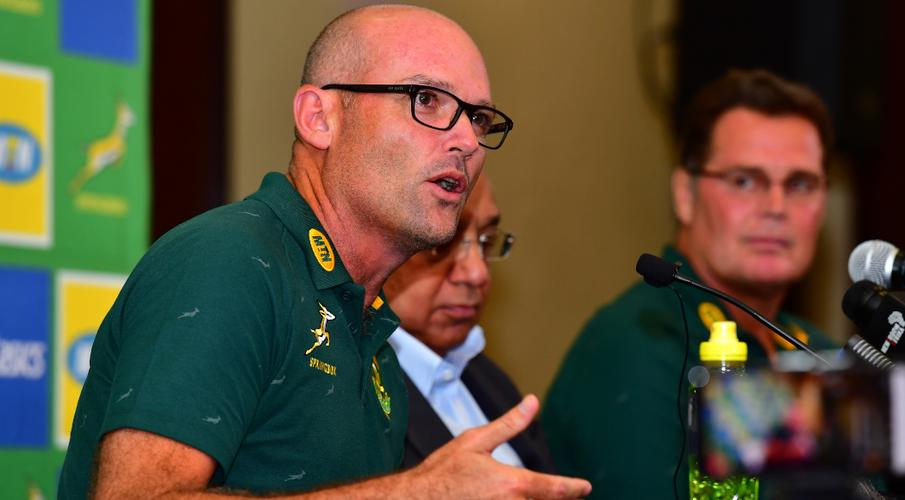 'I know I'm a risk' - new Bok coach Nienaber - SuperSport