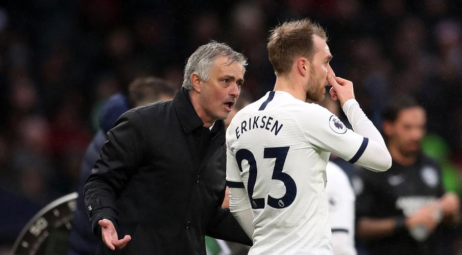 Mourinho takes swipe at Inter's Conte over Eriksen remark - SuperSport
