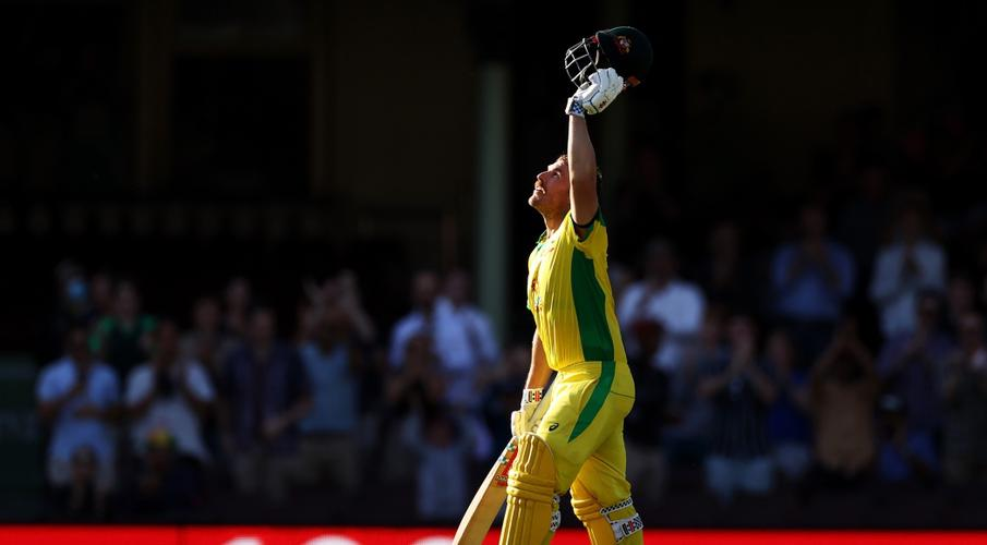 Finch, Smith tons, Hazlewood strikes as Aussies crush India - SuperSport