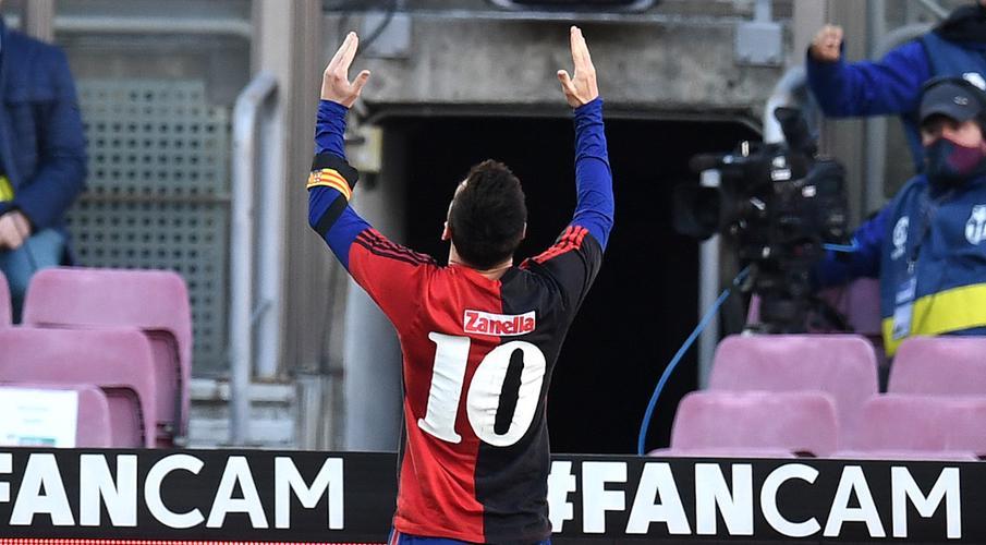 Messi salutes Maradona as Barca trounce Osasuna - SuperSport