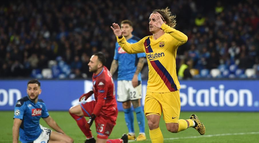 Griezmann earns Barcelona draw at Napoli - SuperSport
