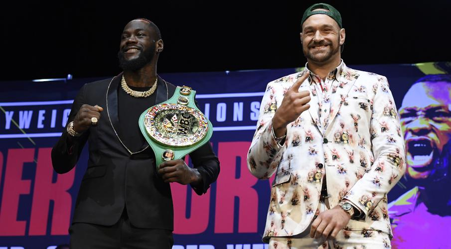 Nevada bans Wilder, Fury faceoff after weigh-in - SuperSport