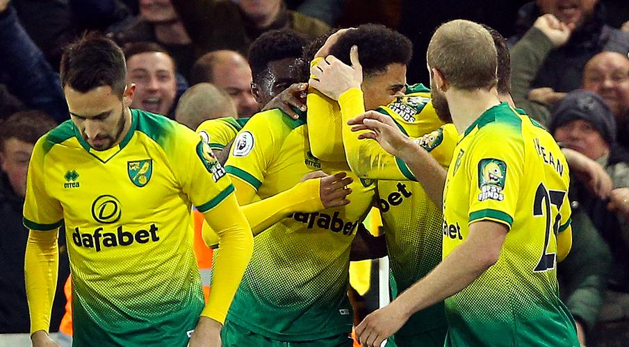 Lewis sinks Leicester to boost Norwich survival bid - SuperSport