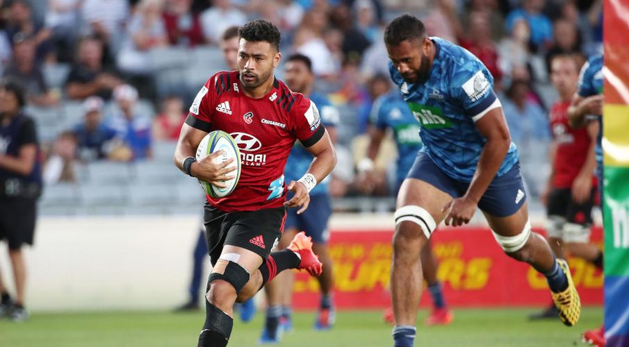 VODACOM SUPER RUGBY Wounded Crusaders unleash on bumbling Blues 14 February 2020 - SuperSport