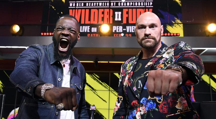 Wilder and Fury ready for Vegas rematch - SuperSport