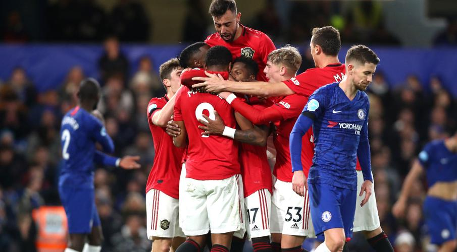 Man United win at Chelsea to close on top four - SuperSport