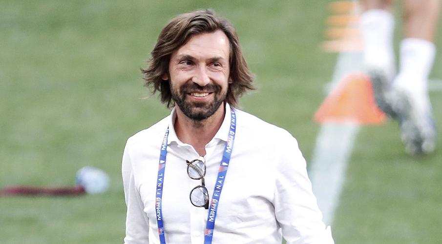 Juventus bet on Pirlo becoming new Zidane, Guardiola - SuperSport
