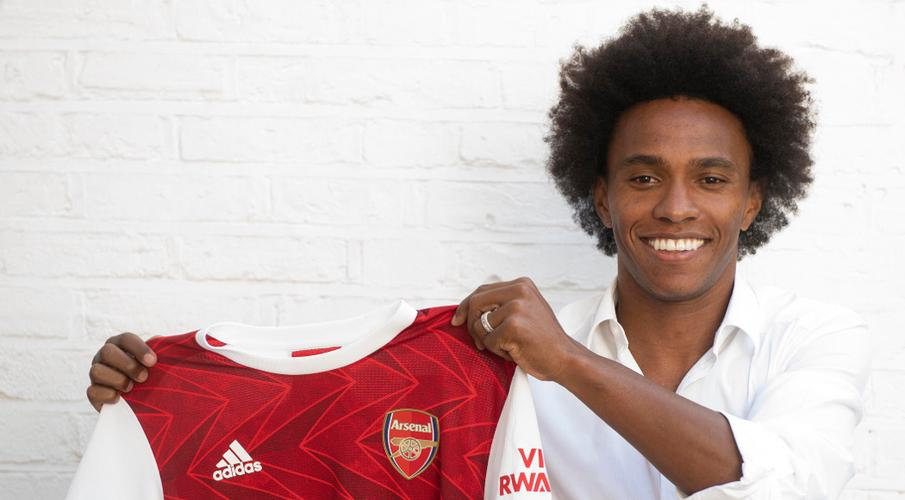 Arsenal sign Willian on three-year contract - SuperSport
