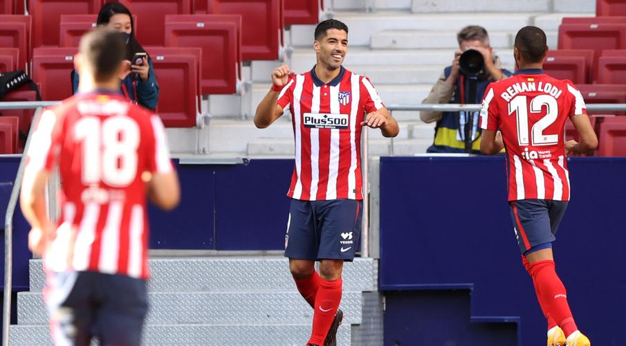 Suarez scores, gets assist as Atletico lay down marker - SuperSport
