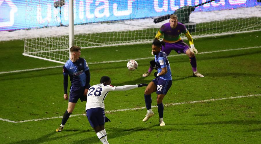 Late goal flurry earns Tottenham Cup win at Wycombe - SuperSport